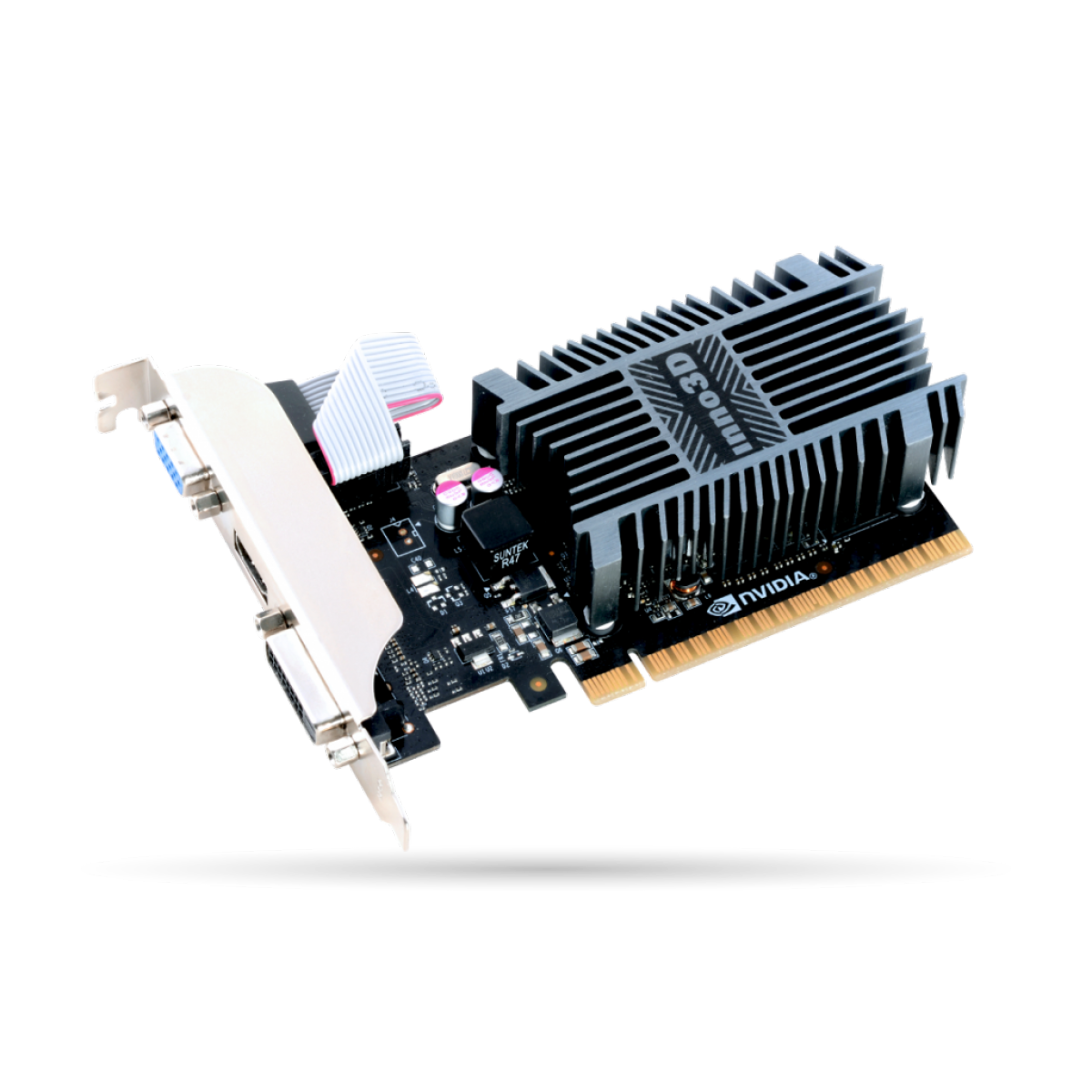 Placa de Vídeo Inno3D GT 710, 2GB, DDR3, 64bit, N710-1SDV-E3BX