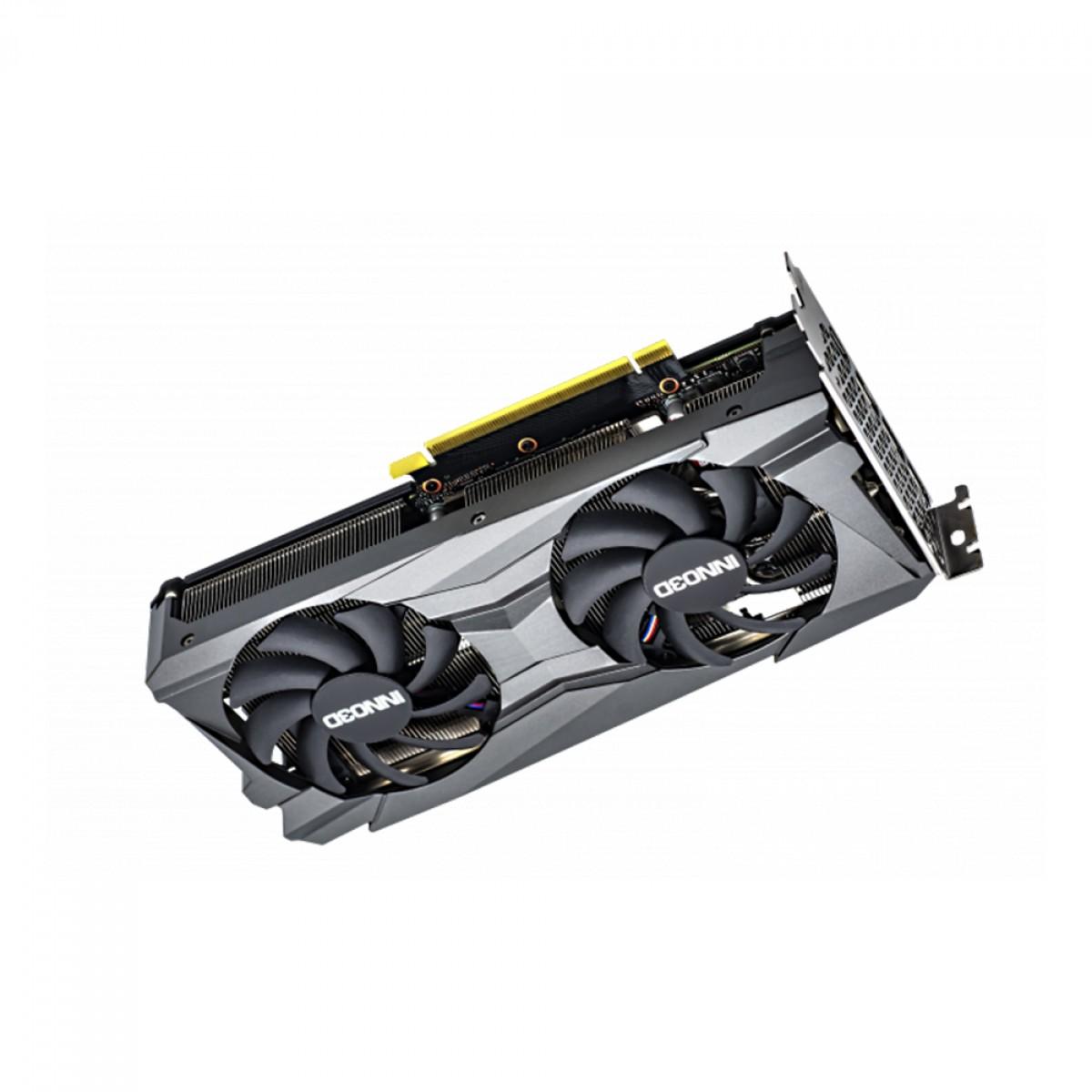 Placa de Vídeo INNO3D NVIDIA GeForce RTX 3060 TWIN X2 OC, 12GB, GDDR6X, 192bit, LHR, N30602-12D6X-11902120H