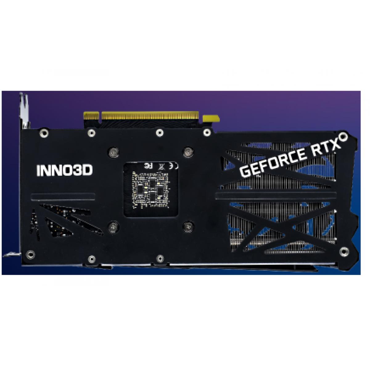 Placa de Vídeo Inno3D RTX 3060 Twin X2 OC, 12GB, GDDR6, 192bit, N30602-12D6X-11902120