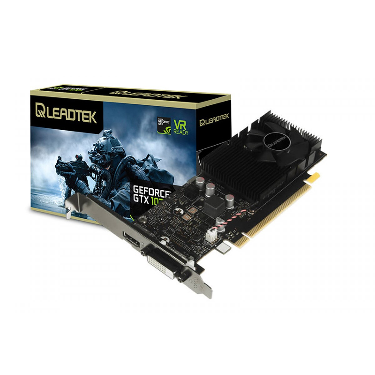 Placa de Vídeo Leadtek WinFast GeForce GT 1030, 2GB, GDDR5, 64bit
