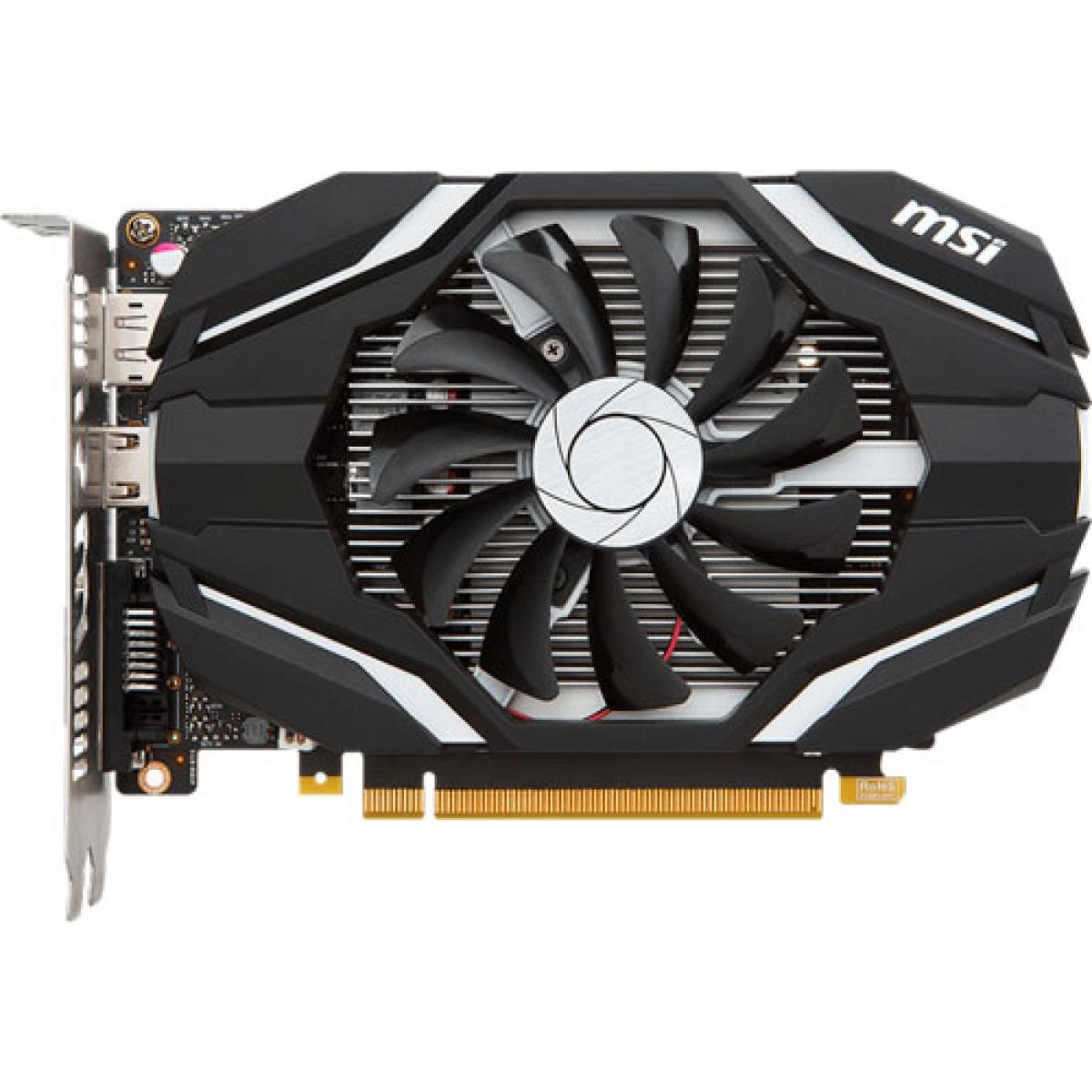 Placa de Vídeo MSI GeForce GTX 1050 Ti 4G OC GDDR5 PCI-EXP 912-V809-2268