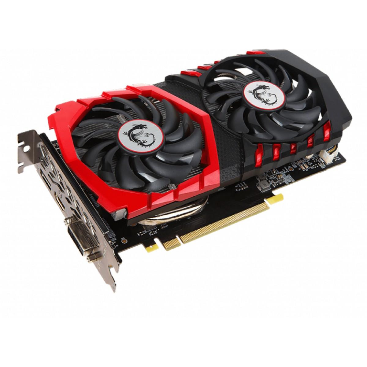 Placa de Vídeo MSI GeForce GTX 1050 TI GAMING X 4G GDDR5 4GB PCI-EXP