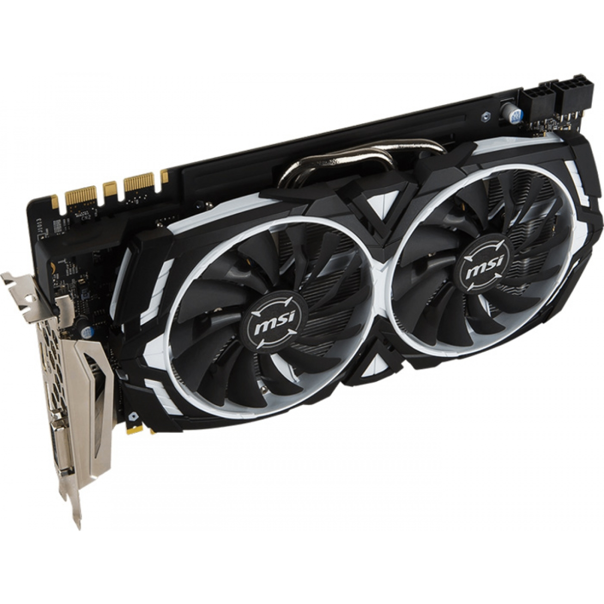 Placa de Video MSI GeForce GTX 1080 ARMOR 8G OC 8GB GDDR5X PCI-EXP 912-V336-004-I
