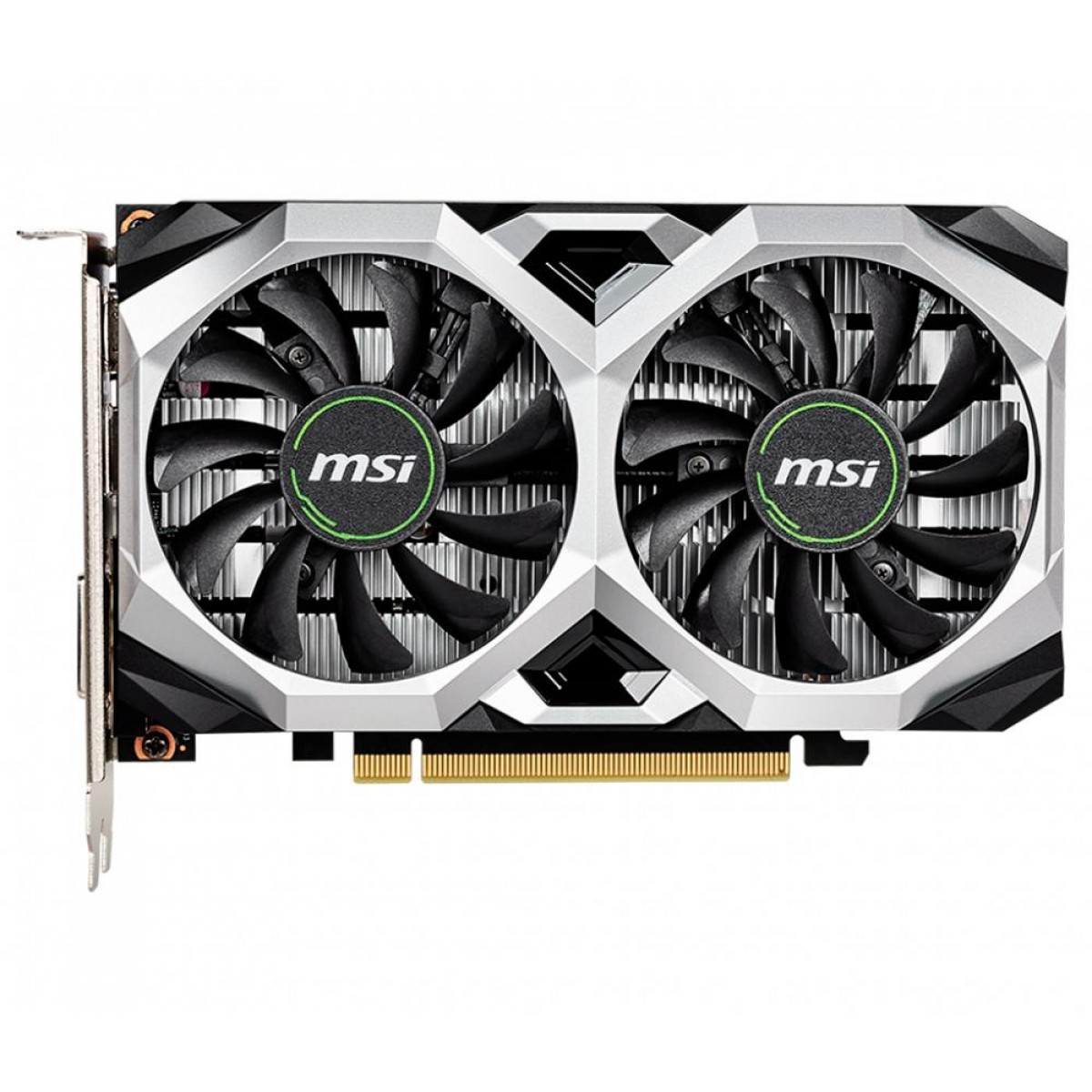 Placa de Vídeo MSI GeForce GTX 1650 D6 Ventus XS Dual OC, 4GB GDDR6, 128Bit