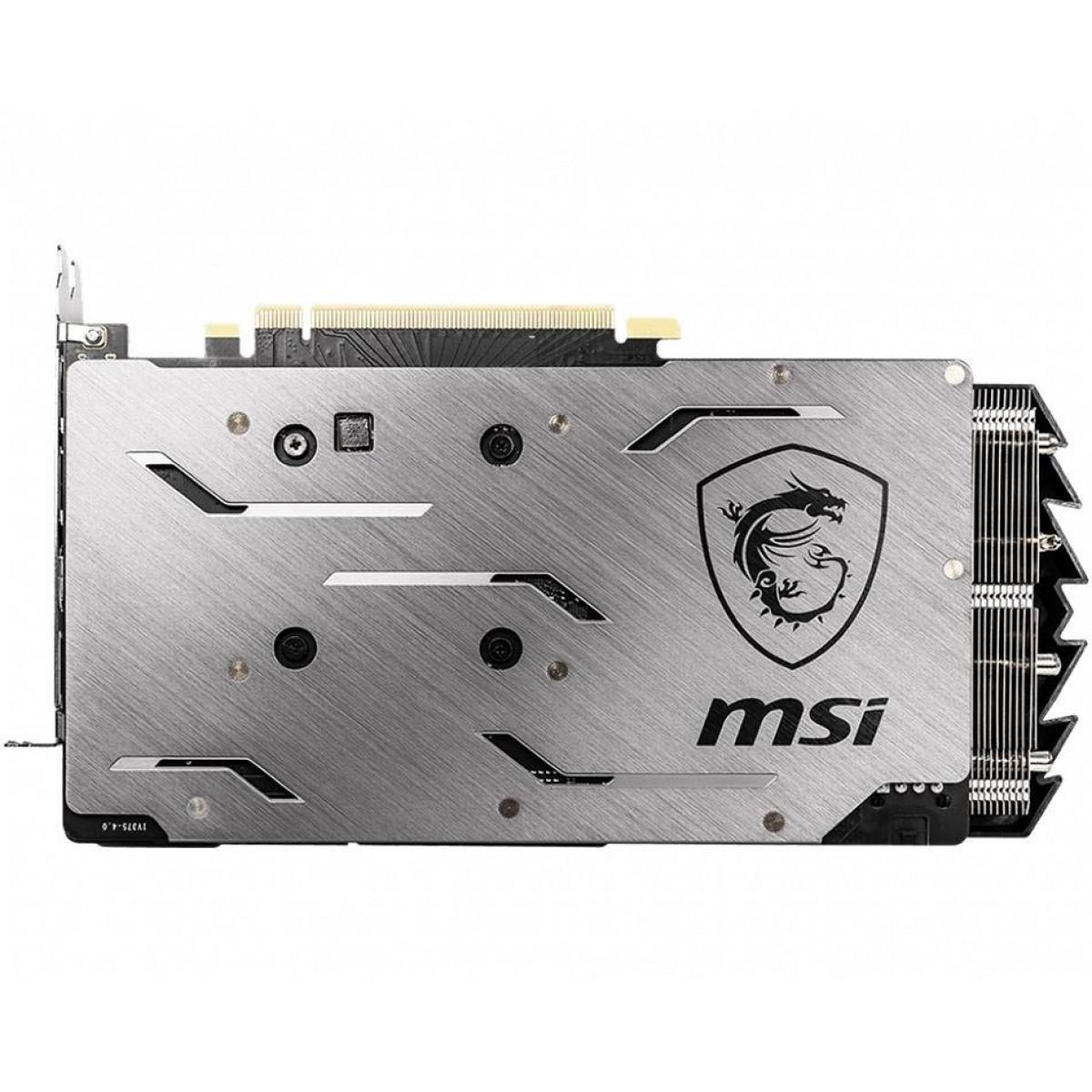 Placa de Video MSI, GeForce, RTX 2060 Super GAMING X, Dual, 8GB, GDDR6, 256Bit, 912-V375-214