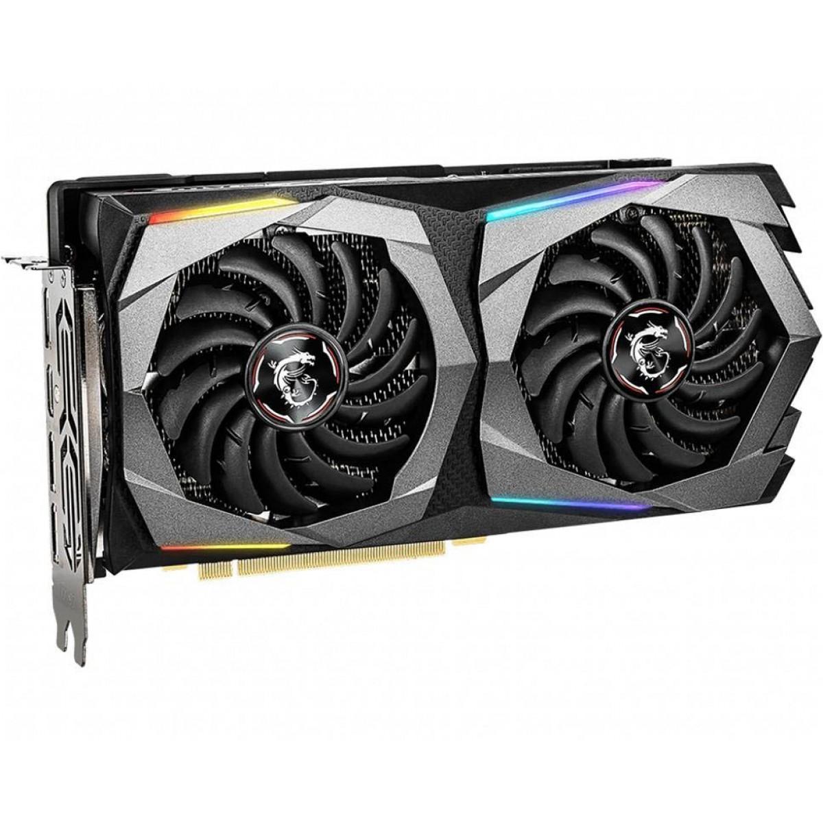 Placa de Video MSI GeForce RTX 2060 Super GAMING X Dual, 8GB GDDR6, 256Bit