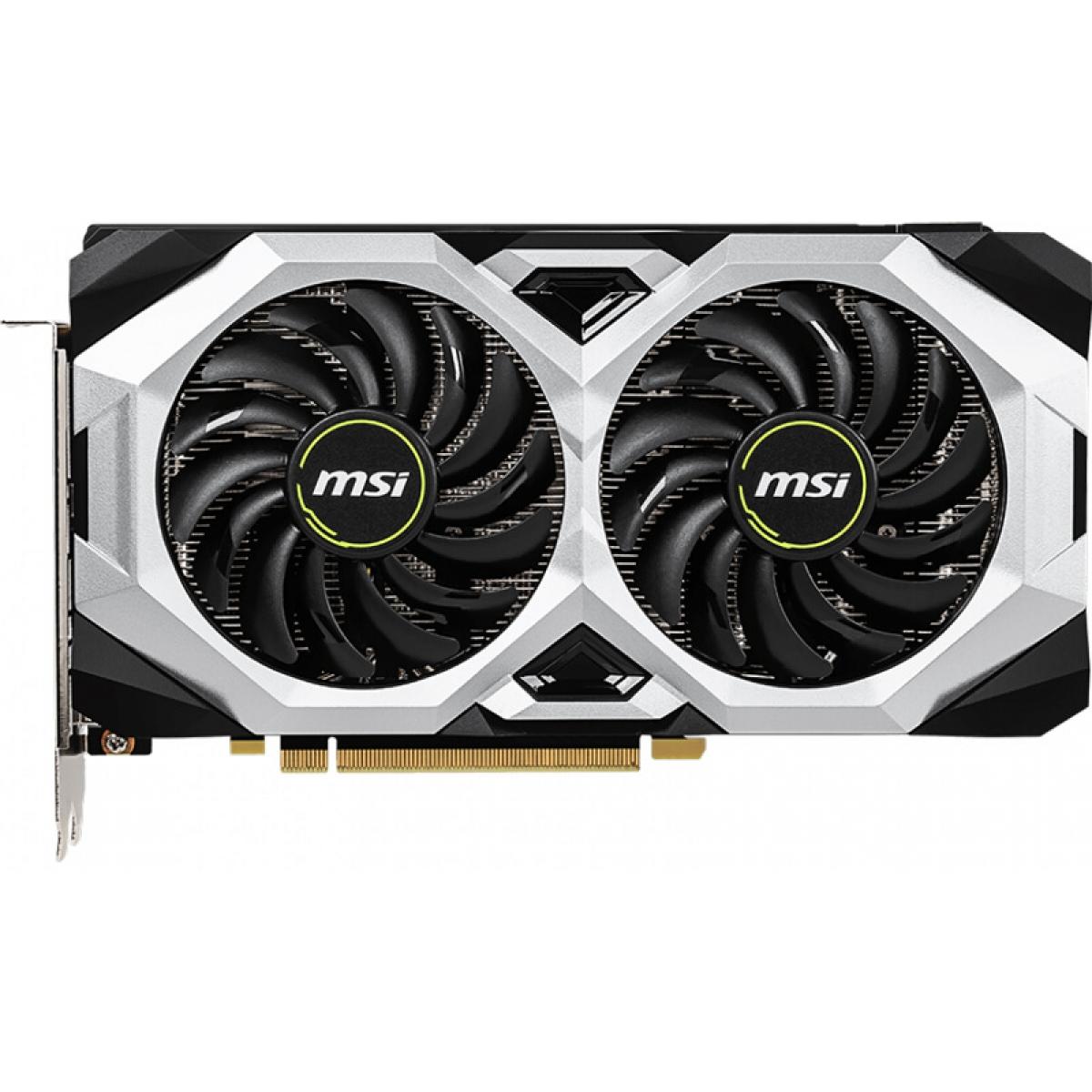 Placa de Video MSI GeForce RTX 2060 Ventus OC Dual, 6GB GDDR6, 192Bit