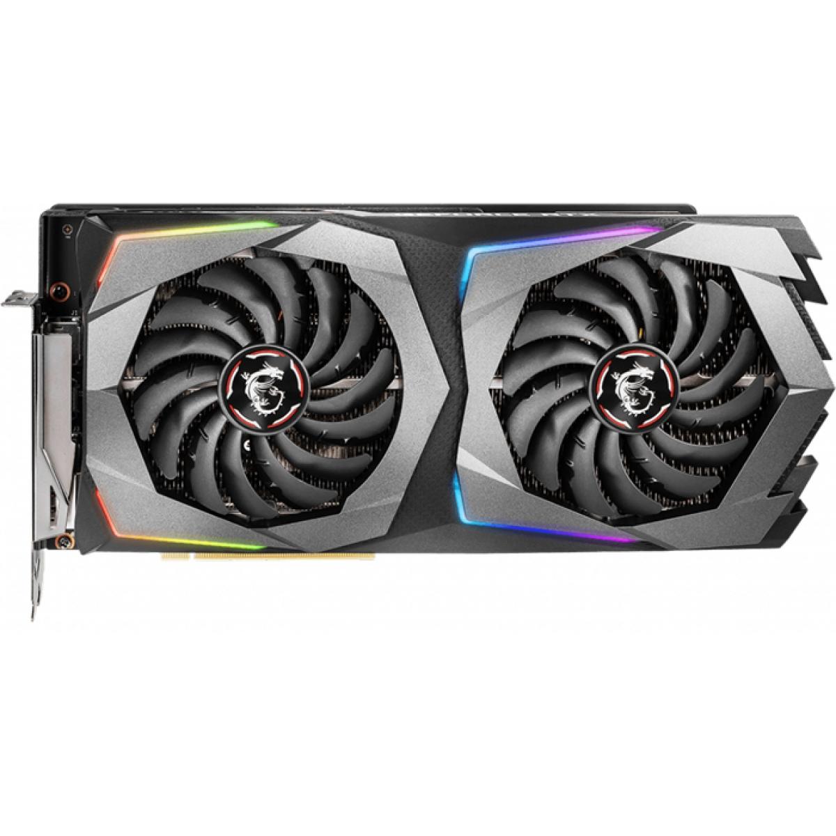 Placa de Video MSI GeForce RTX 2070 Gaming Dual, 8GB GDDR6, 256Bit