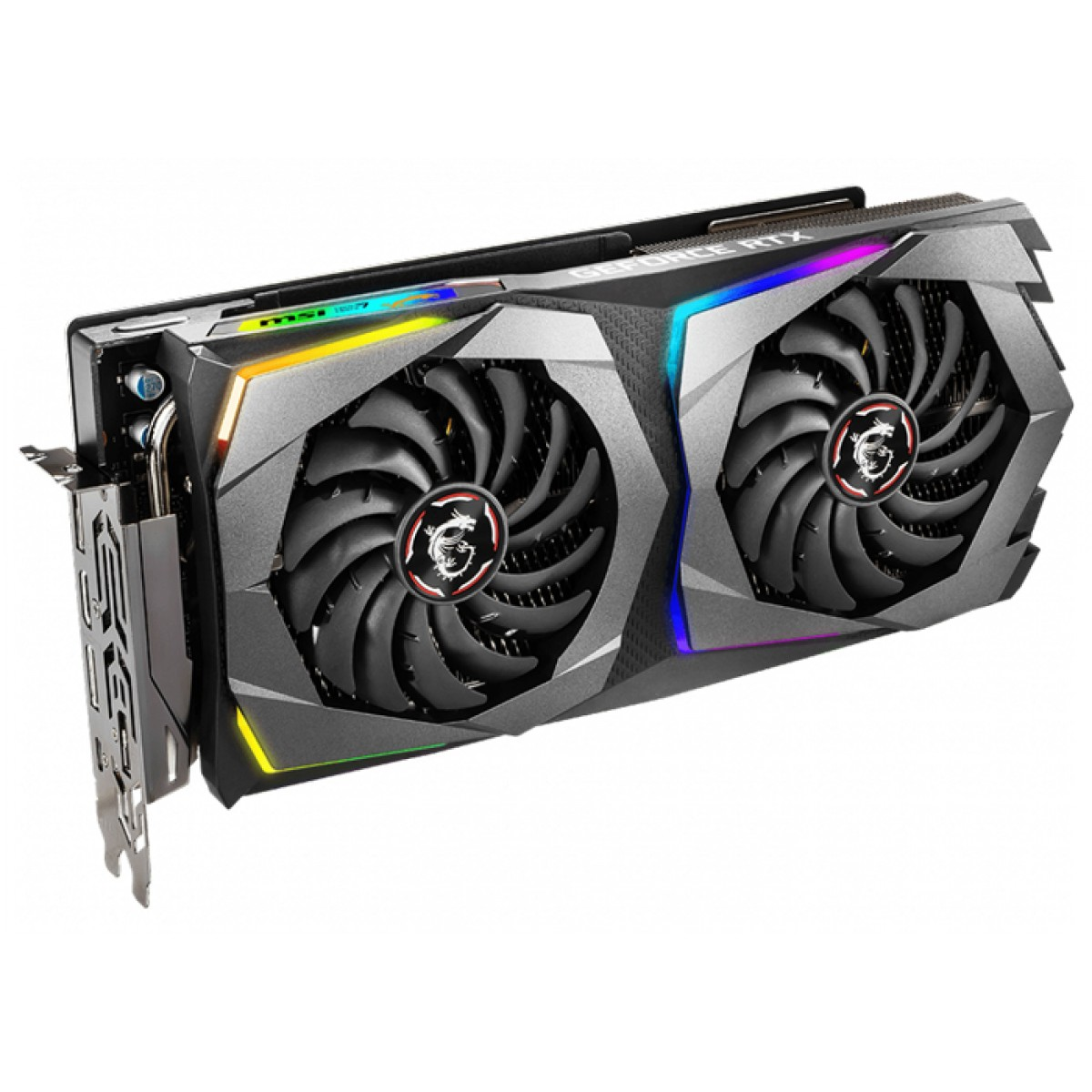 Placa de Video MSI GeForce RTX 2070 Gaming X Dual, 8GB GDDR6, 256Bit