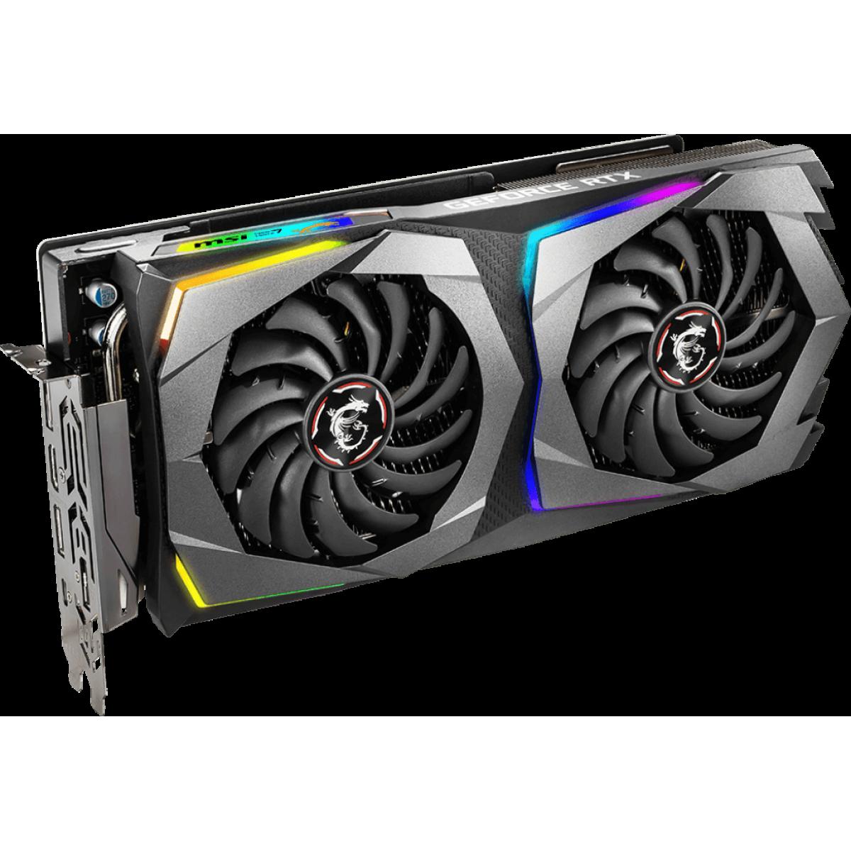 Placa de Video MSI GeForce RTX 2070 GAMING Z Dual, 8GB GDDR6, 256Bit