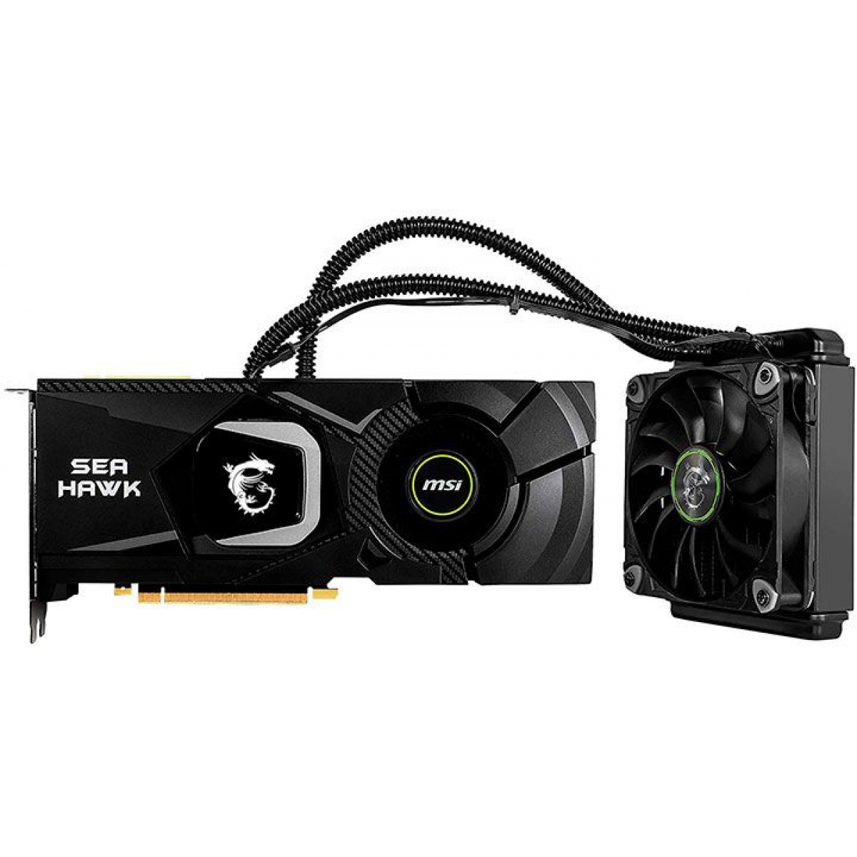Placa de Video MSI GeForce RTX 2080 Sea Hawk X, 8GB GDDR6, 256Bit, 912-V372-008