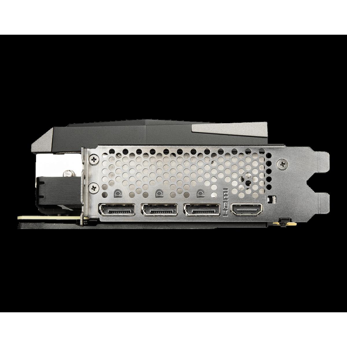 Placa de Vídeo MSI, GeForce, RTX 3080 Gaming X Trio, 10GB, GDDR6X, 320Bit