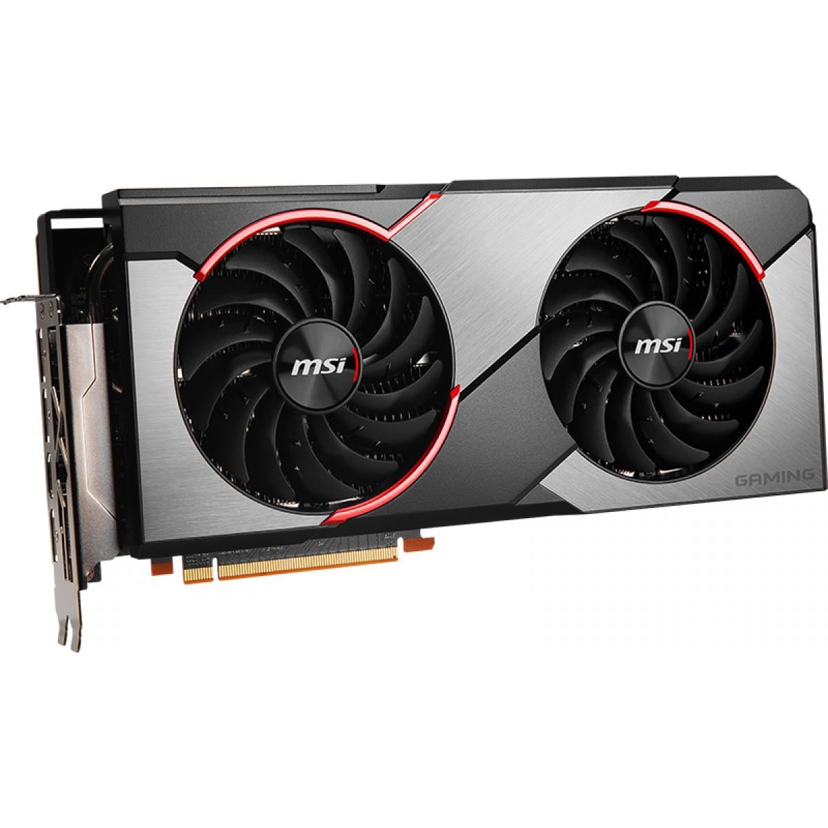 Placa de Vídeo MSI Radeon Navi RX 5700 XT Gaming X Dual, 8GB GDDR6, 256Bit