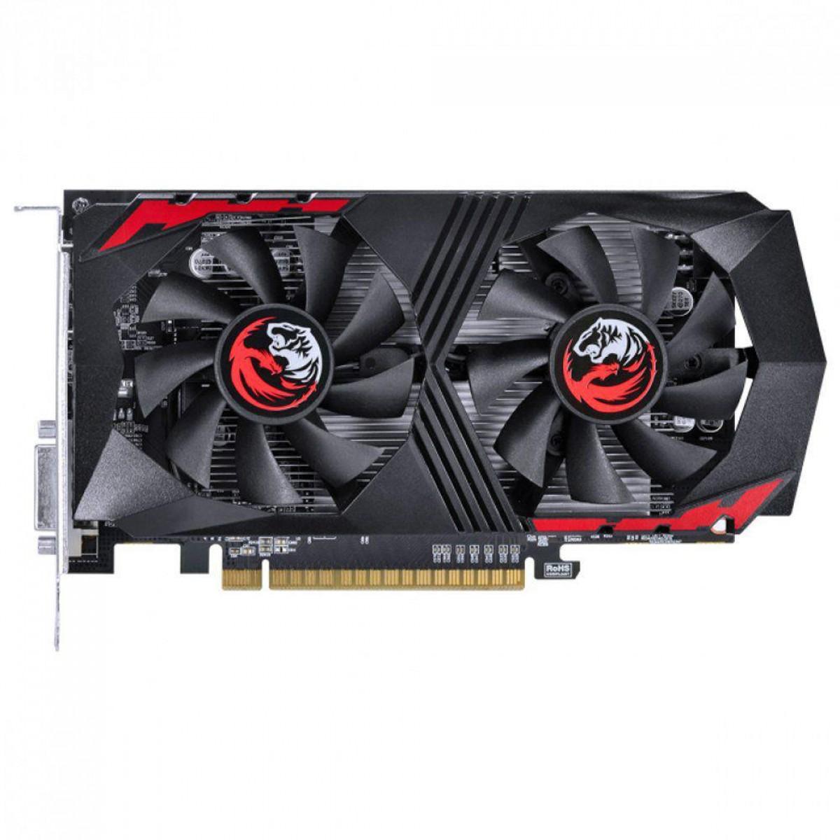 Placa de Vídeo PCYes, GeForce, GTX 1050 TI Graffiti Series, Dual, 4GB, GDDR5, 128Bit, PA1050TI12804G5DF