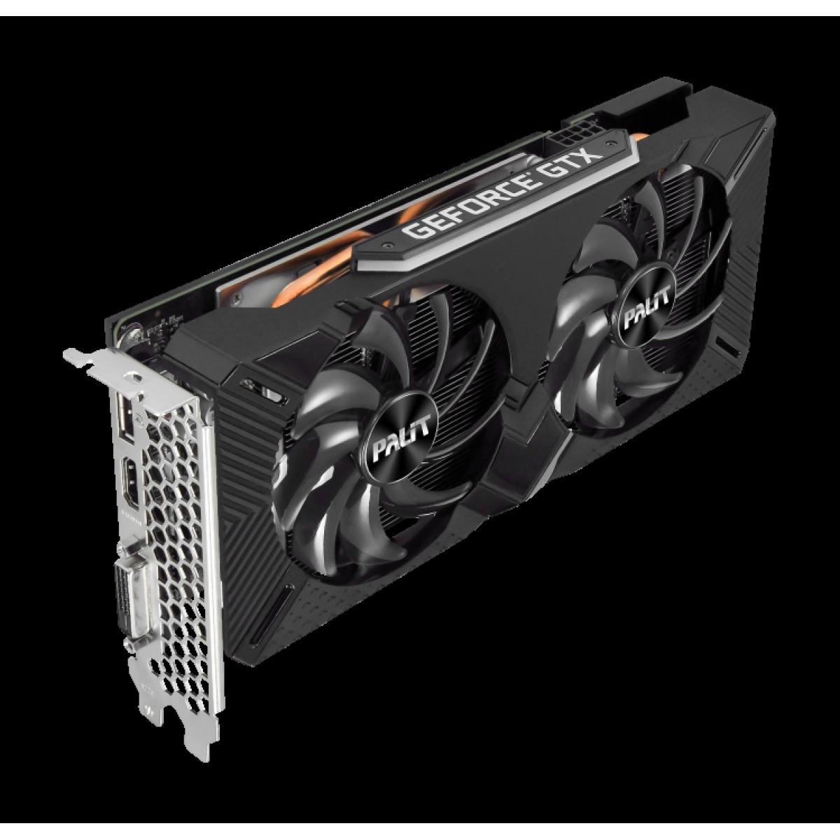 Placa de Vídeo Palit NVIDIA GeForce GTX 1660 Super GP, 6GB, GDDR6, 192bit, NE6166S018J9-1160A-1