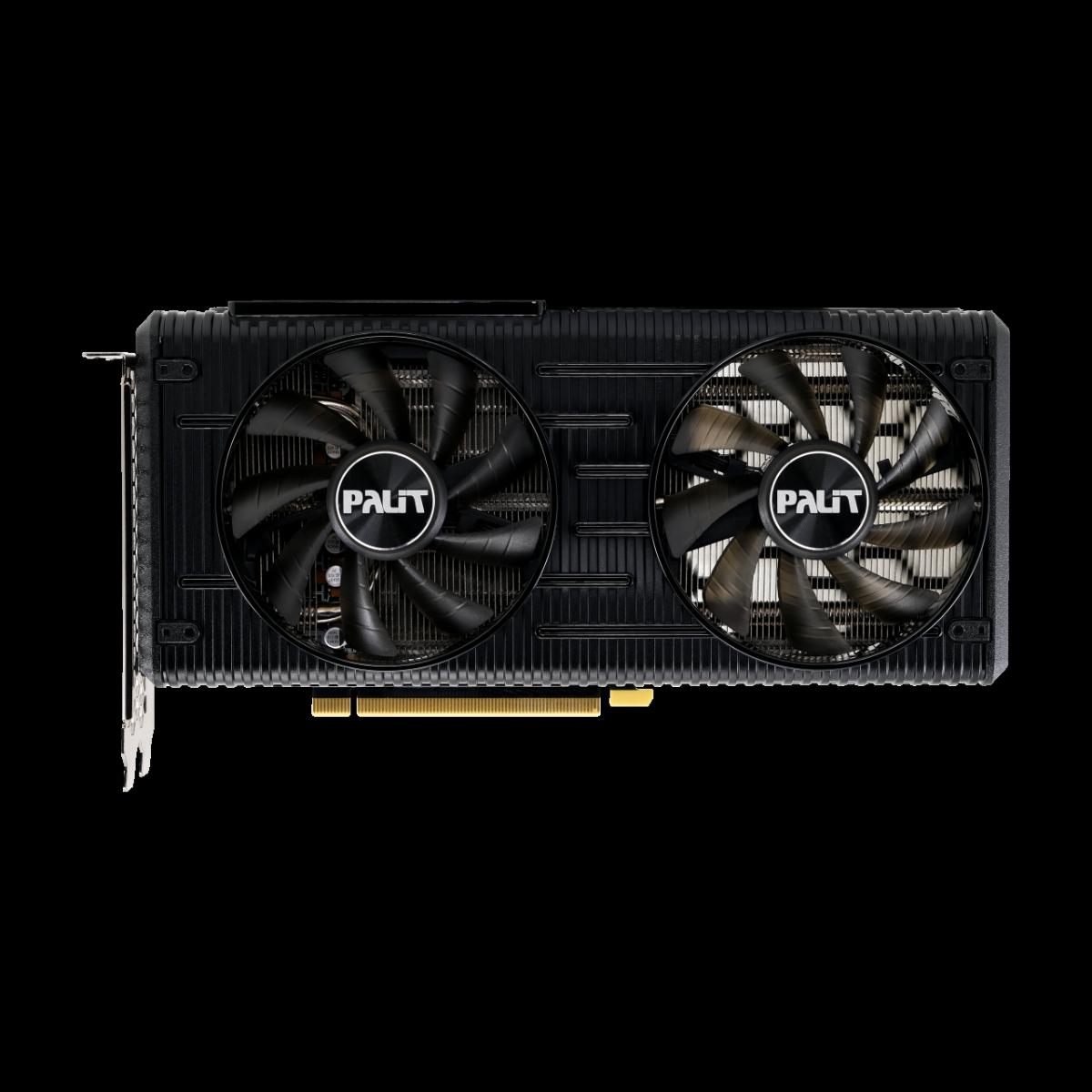 Placa de Vídeo Palit NVIDIA GeForce RTX 3060 Dual, 12GB, GDDR6, 192bit, LHR, NE63060019K9-190AD