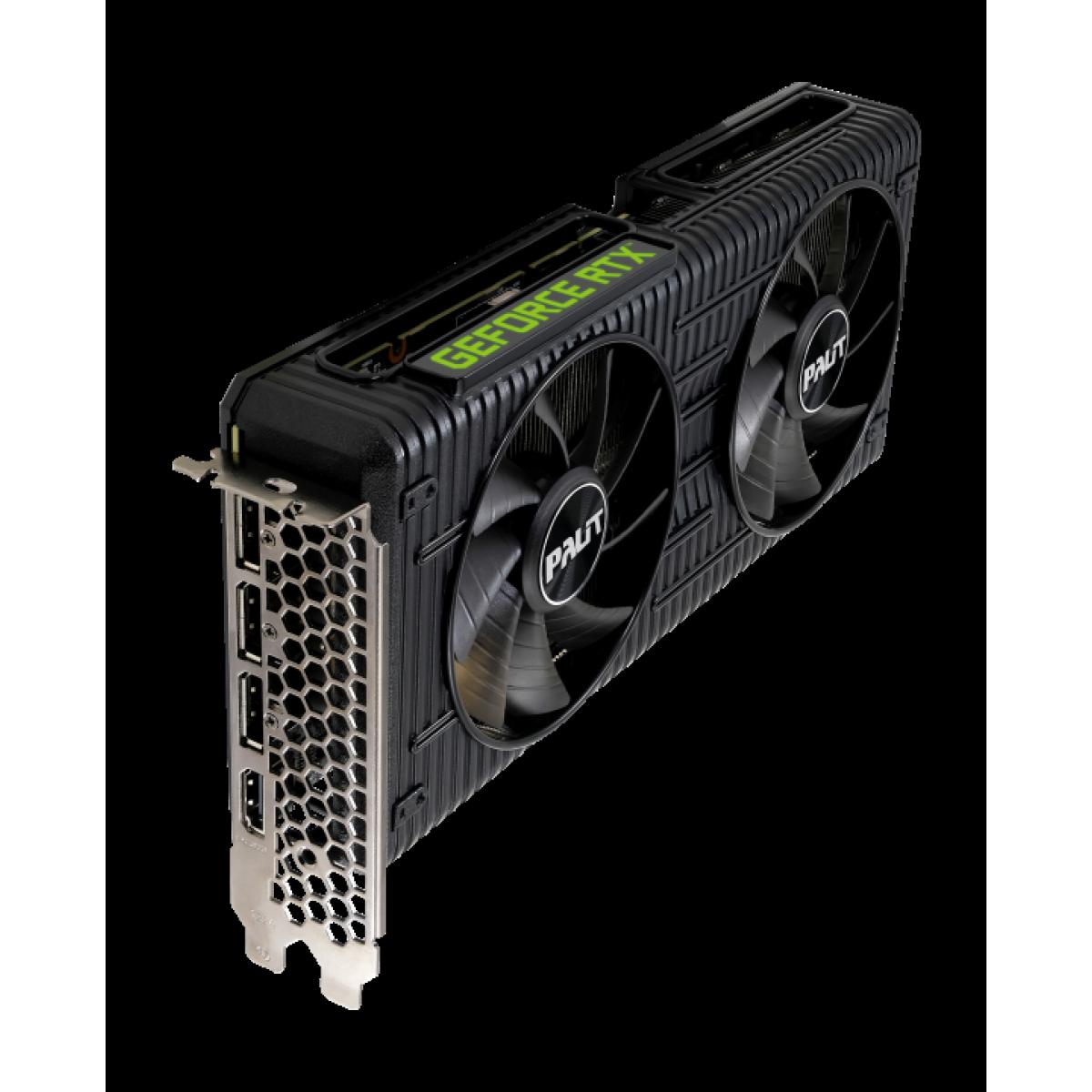 Placa de Vídeo Palit NVIDIA GeForce RTX 3060 Dual OC, 12GB, GDDR6, 192bit, NE63060T19K9-190AD