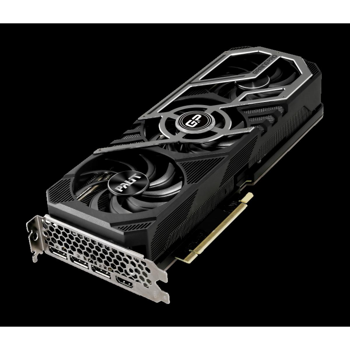 Placa de Vídeo Palit NVIDIA GeForce RTX 3070 GamingPro OC, 8GB, GDDR6, 256bit, NE63070S19P2-1041A