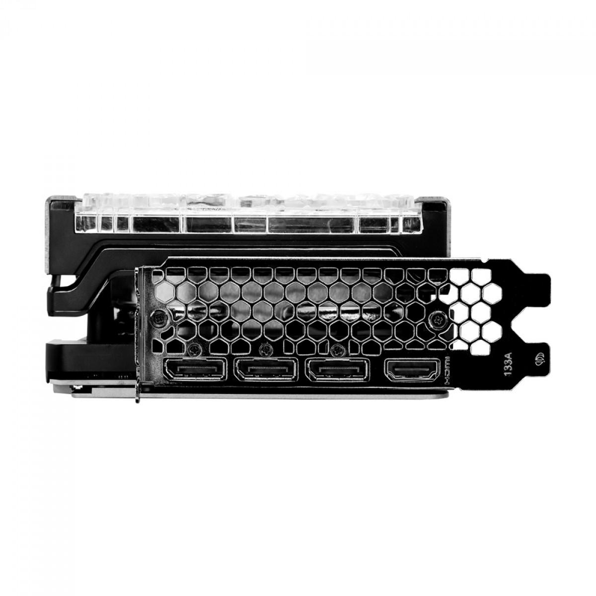 Placa de Vídeo Palit NVIDIA GeForce RTX 3070 TI GameRock OC, 8GB, GDDR6X, 256bit, LHR, NED307TT19P2-1047G