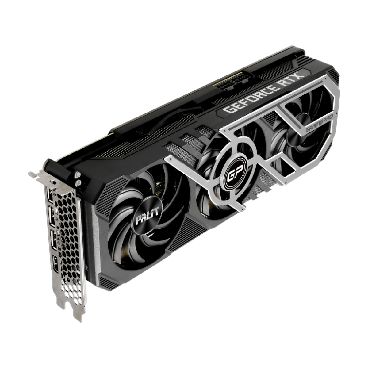 Placa de Vídeo Palit NVIDIA GeForce RTX 3080 GamingPro OC, 10GB, GDDR6X, 320bit, NED3080S19IA-132AA