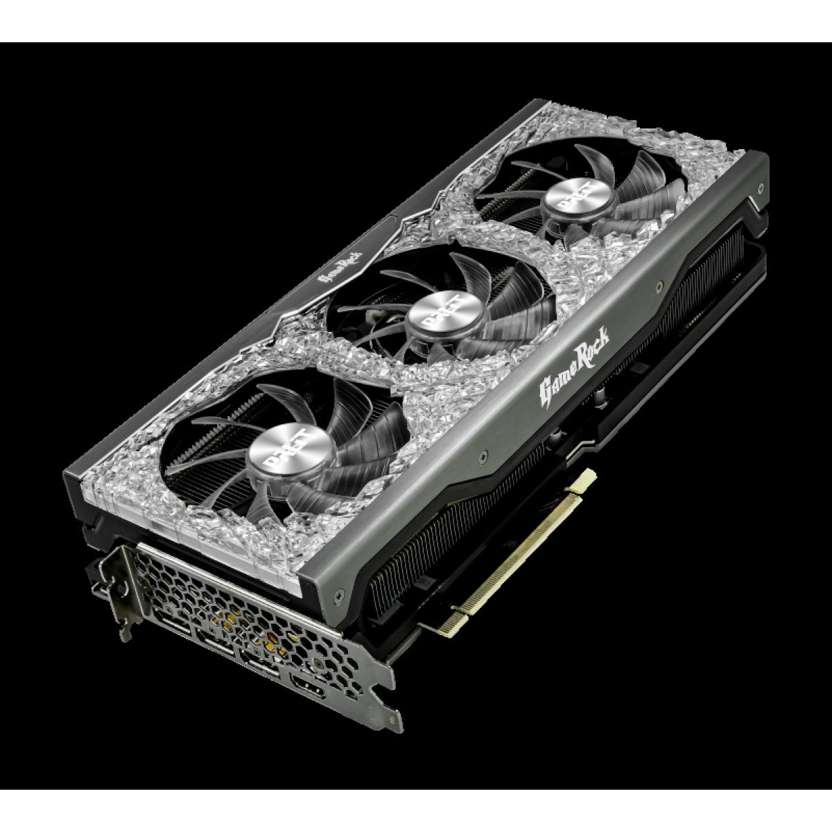 Placa de Vídeo Palit NVIDIA GeForce RTX 3080 Ti GameRock OC, 12GB, GDDR6X, 384bit, LHR, NED308TT19KB-1020G