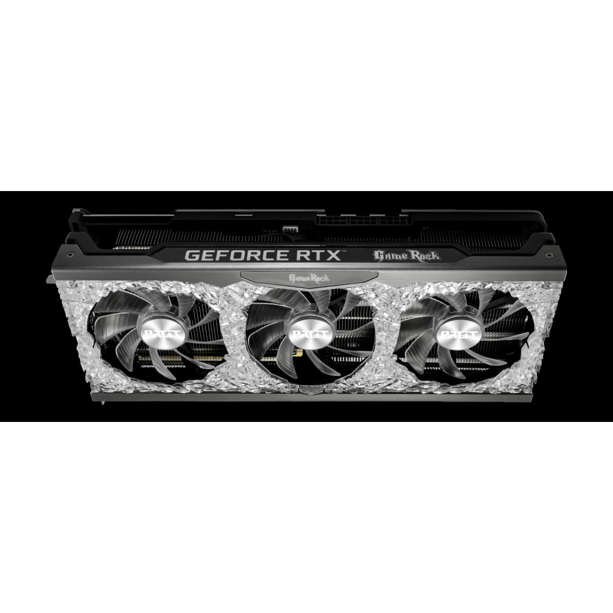 Placa de Vídeo Palit NVIDIA GeForce RTX 3080 Ti GameRock, 12GB, GDDR6X, 384bit, LHR, NED308T019KB-1020G