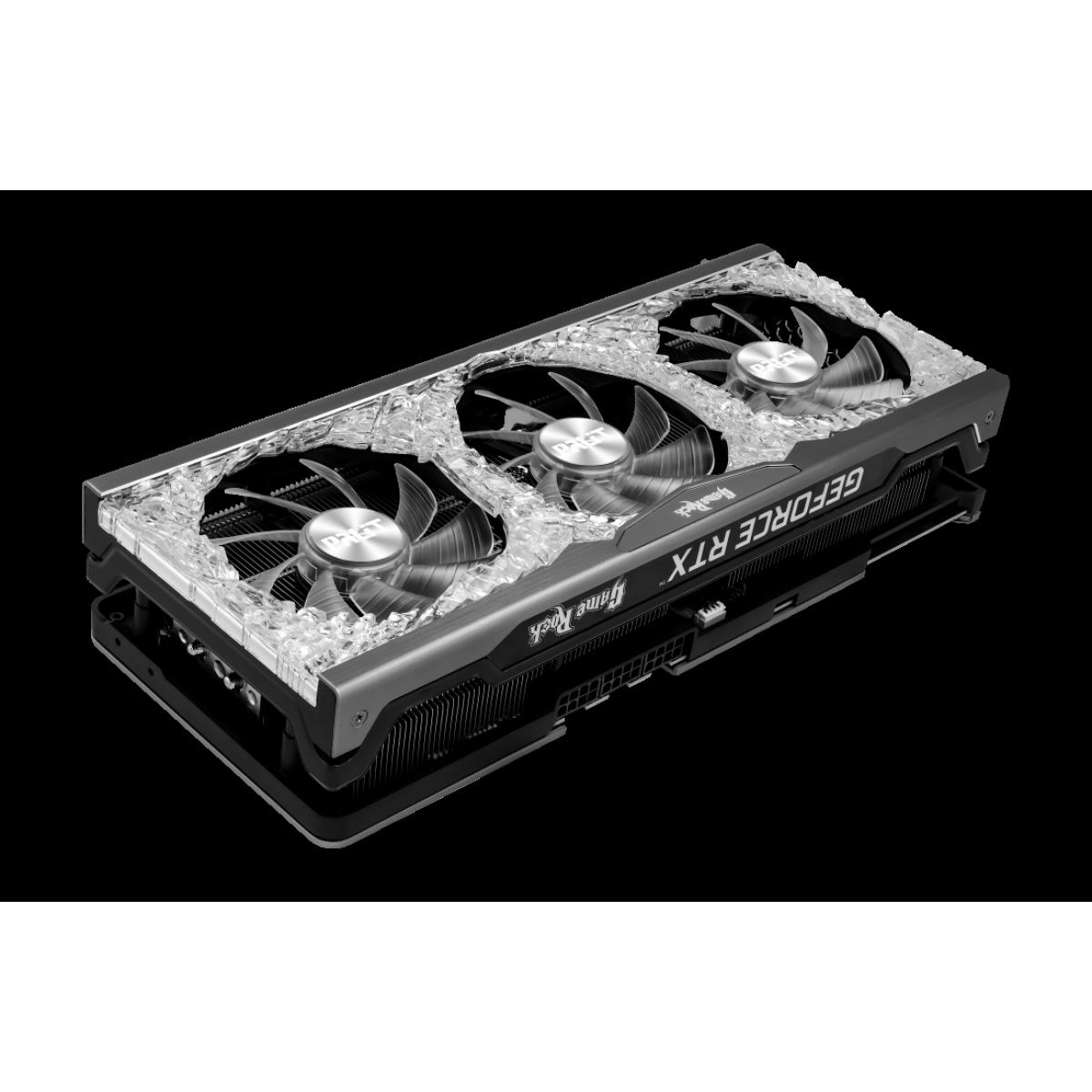 Placa de Vídeo Palit NVIDIA GeForce RTX 3090 GameRock, 24GB, GDDR6X, 384bit, NED3090T19SB-1021G