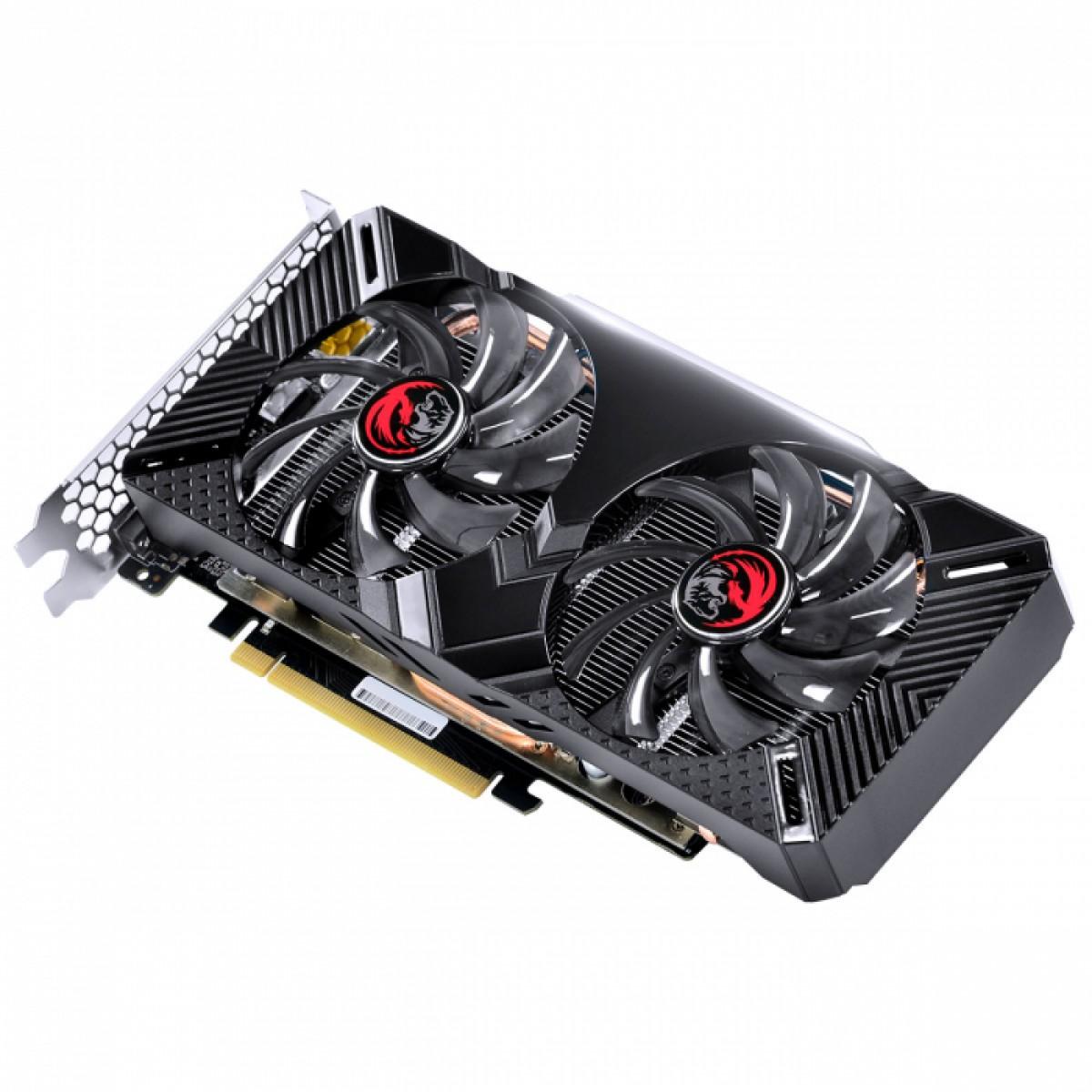 Placa de Vídeo PCyes GeForce GTX 1660 Dual, 6GB GDDR5, 192Bit, PPOC166019206G5