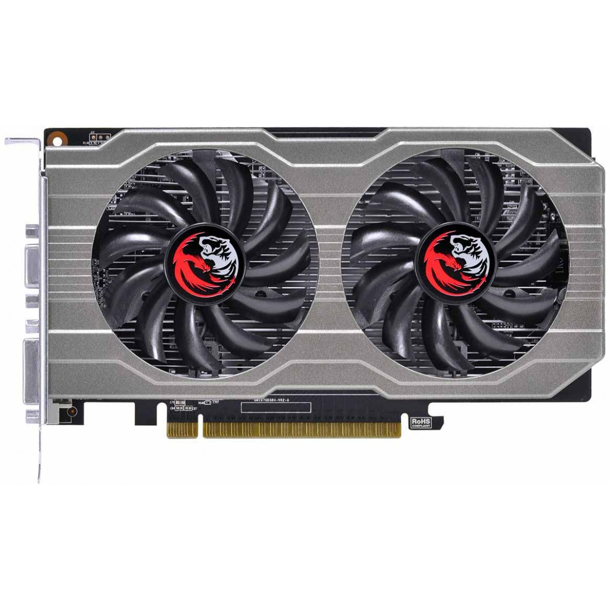 Placa de Vídeo PCYES GeForce GTX 750 Ti Dual, 2GB GDDR5, 128Bit, PA750TI12802G5DF