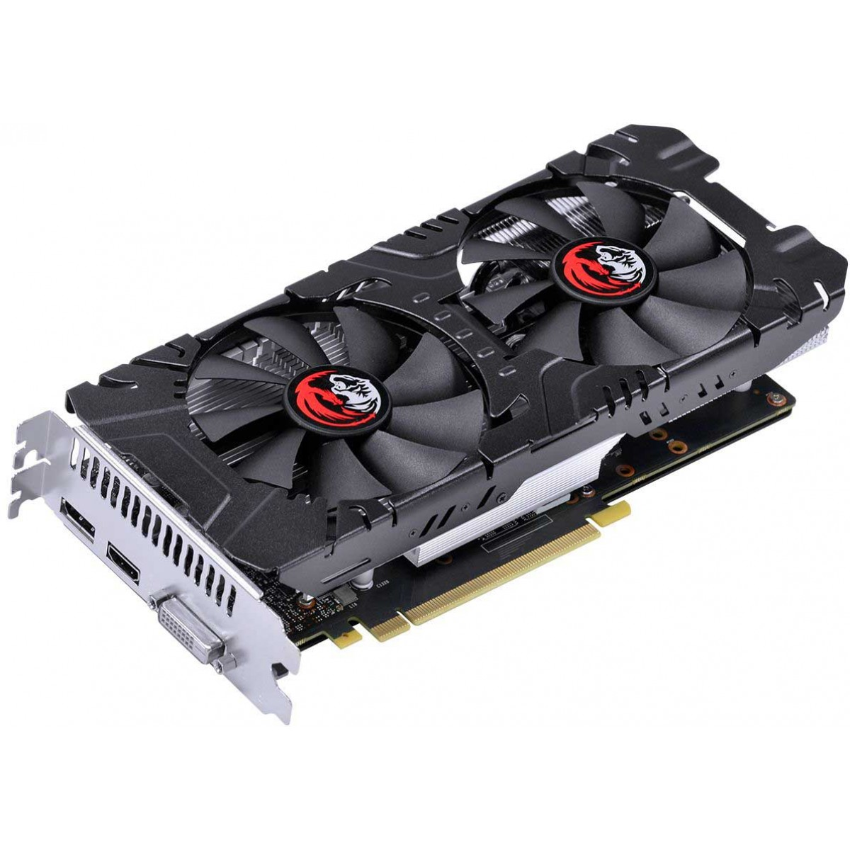 Placa de Vídeo Pcyes Geforce RTX 2060 Dual, 6GB GDDR6, 192Bit, PA206019206G6