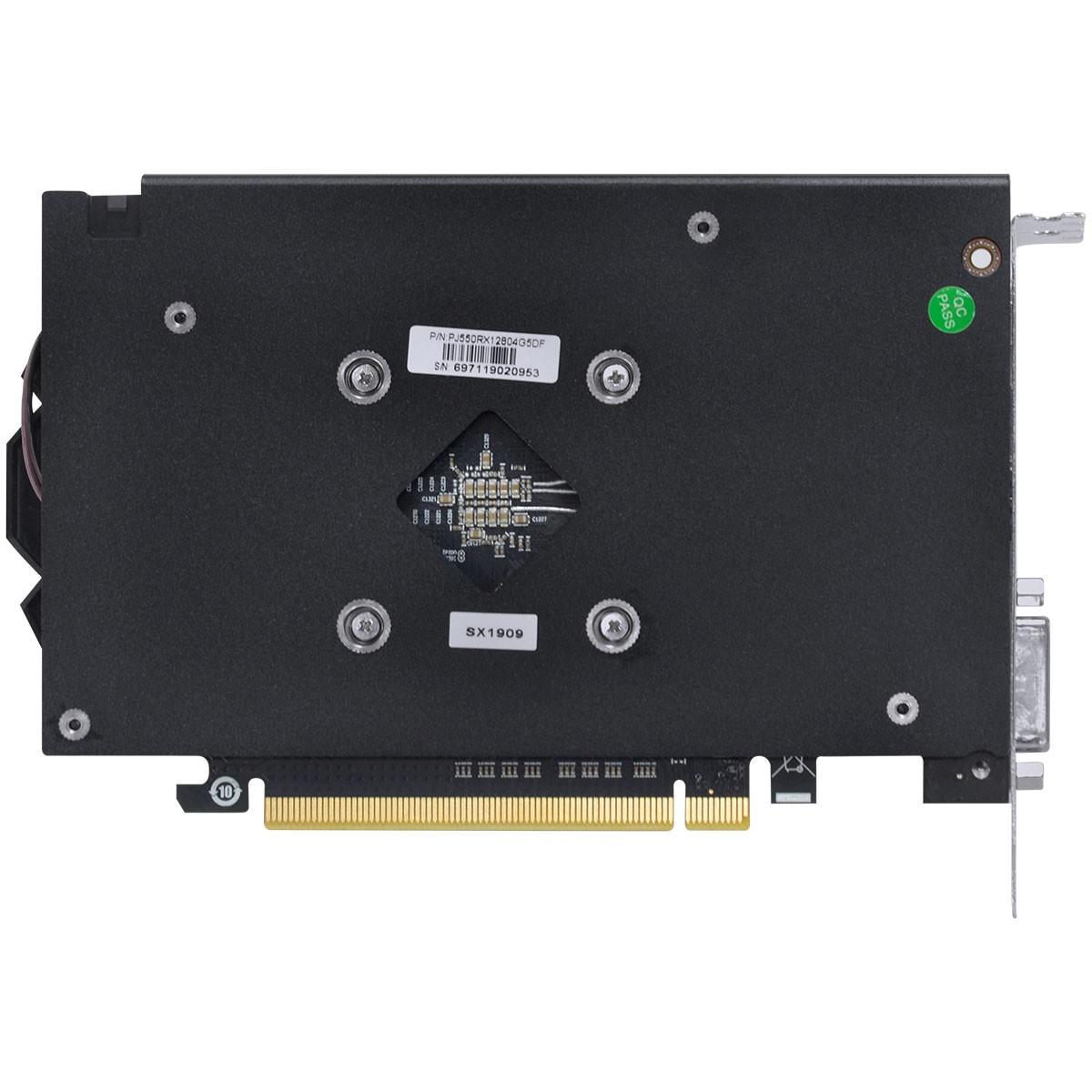 Placa de Vídeo PCyes Radeon RX 550 Graffiti Series, 4GB GDDR5, 128Bit