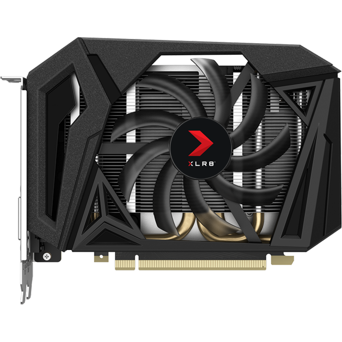 Placa de Vídeo PNY Geforce GTX 1660 XLR8 Gaming Overclocked Edition 6GB GDDR6, 192Bit, VCG16606SFPPB-O