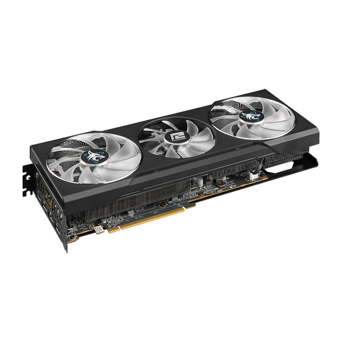 Placa de Vídeo PowerColor Hellhound Radeon RX 6700 XT, 12GB, GDDR6, 192bit, AXRX 6700XT 12GBD6-3DHL