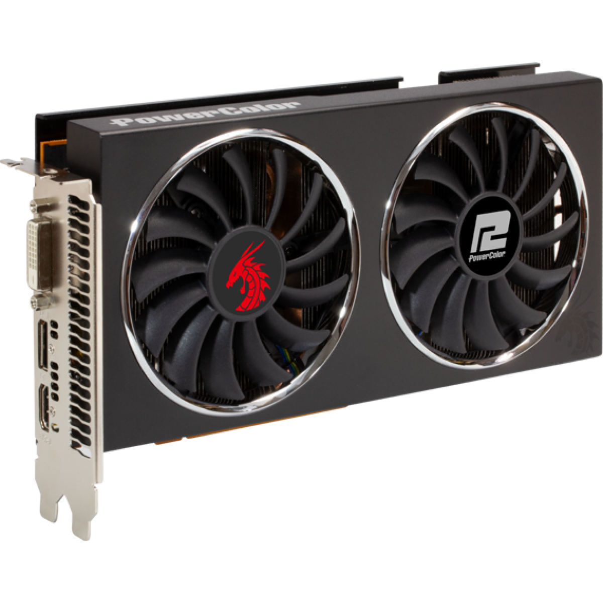Placa de Vídeo PowerColor Radeon Navi RX 5500 XT Red Dragon, Dual Fan, 8GB GDDR6, 128Bit, 8GBD6-DHR/OC