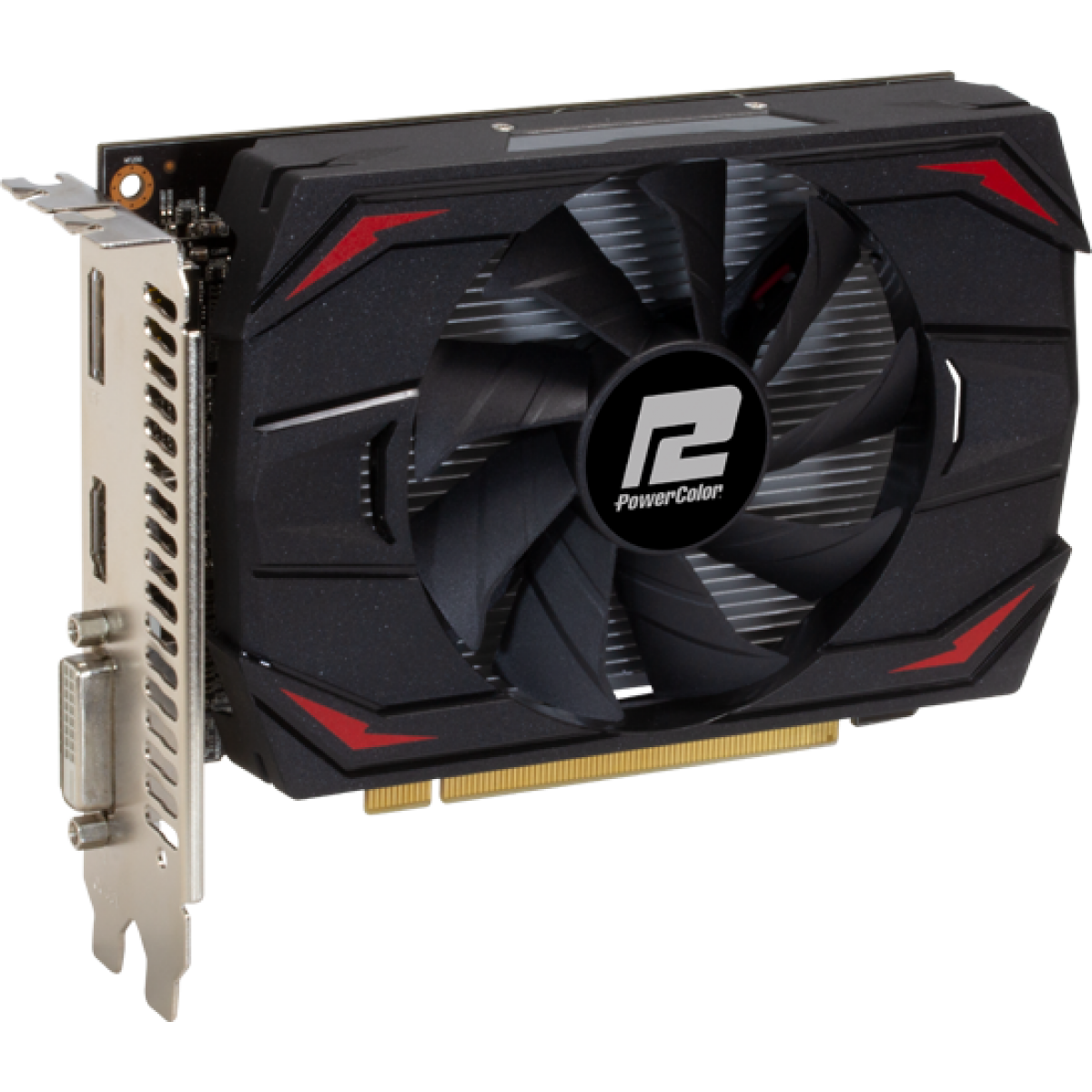 Placa de Vídeo PowerColor, Radeon, RX 550 Red Dragon, 2GB, GDDR5, 64Bit, AXRX 2GB64BD5-DH