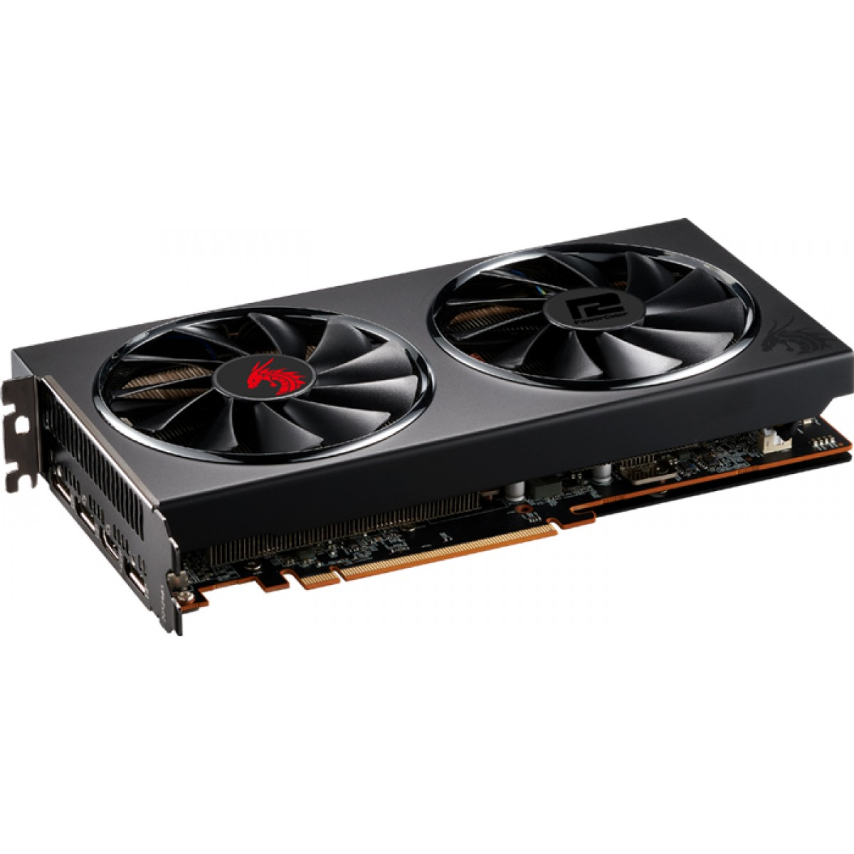 Placa de Vídeo PowerColor Radeon Navi RX 5700 XT Red Dragon, 8GB GDDR6, 256Bit, AXRX 5700 XT 8GBD6-3DHR/OC