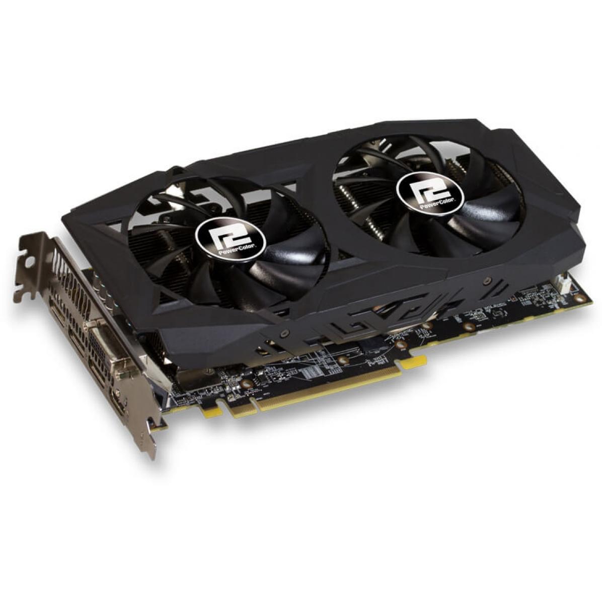 Placa de Vídeo PowerColor Radeon Red Dragon RX 580 8GB AXRX 580 8GBD5-3DHDV2/OC 256Bit GDDR5 PCI-EXP