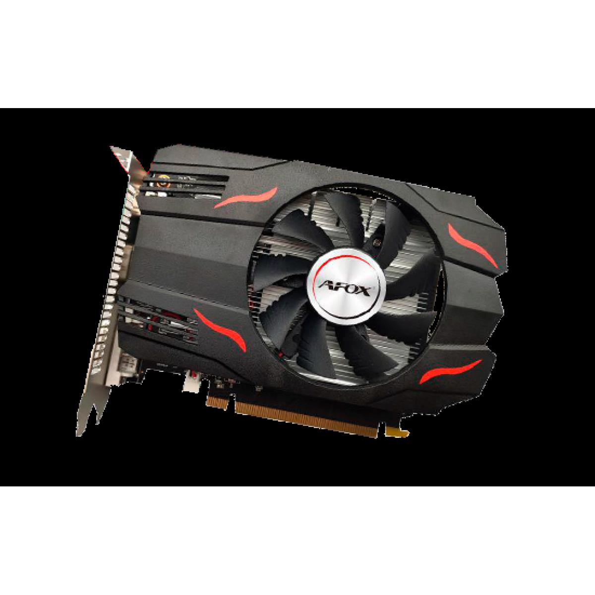 Placa de Vídeo Afox, Radeon, RX 550, 2GB, GDDR5, 128Bit, AFRX550-2048D5H3