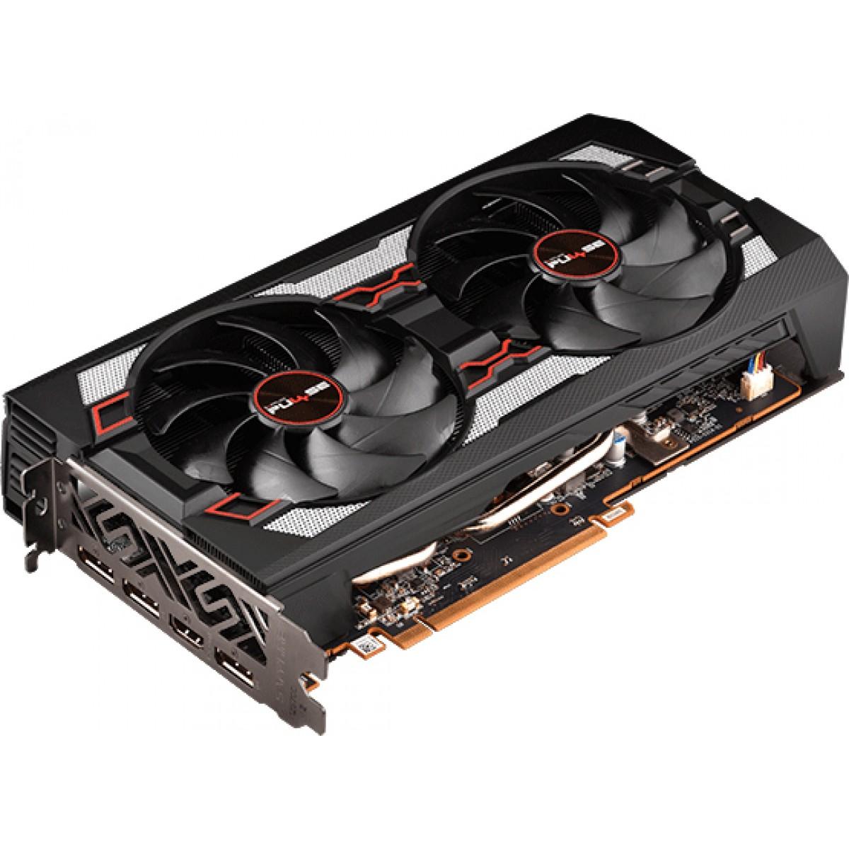 Placa de Vídeo Sapphire Radeon Navi RX 5700 Pulse, 8GB GDDR6, 256Bit