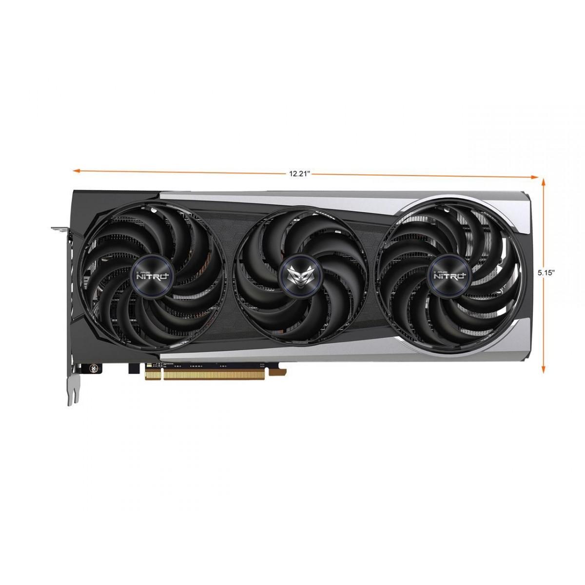 Placa de Vídeo Sapphire  Nitro+ AMD Radeon RX 6700 XT, 12GB, GDDR6, FSR, Ray Tracing, 11306-01-20T