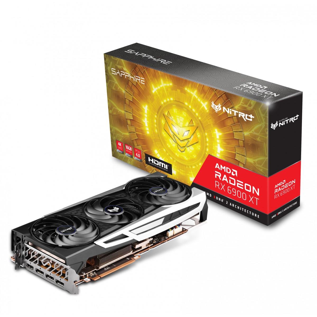 Placa de Vídeo Sapphire Radeon Nitro+ AMD Radeon RX 6900 XT, 16GB, GDDR6, 256bit, 11308-01-20G