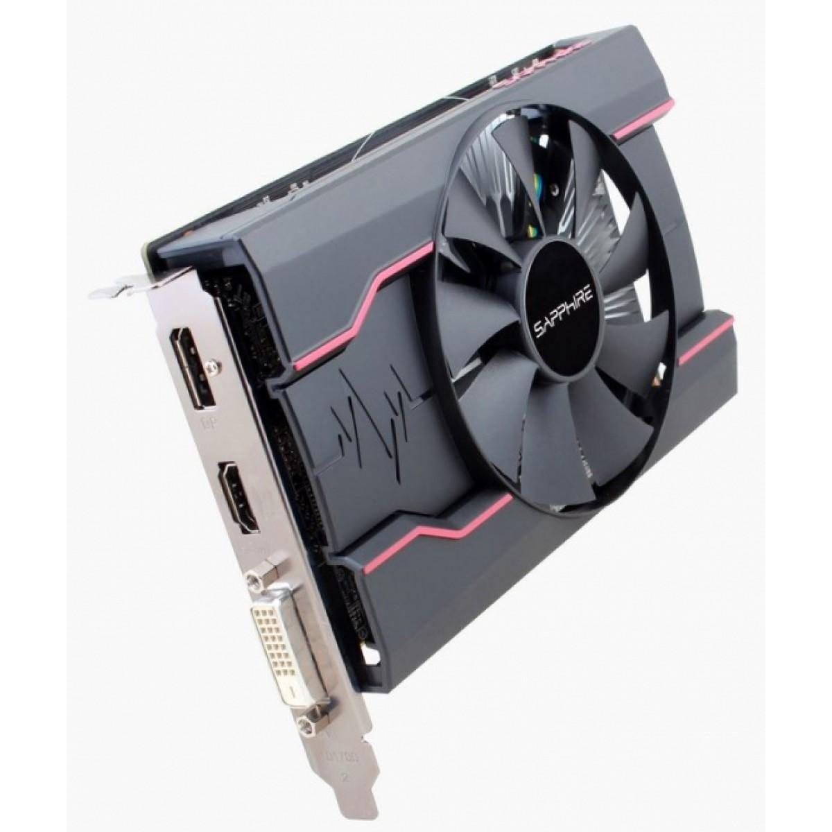 Placa de Vídeo Sapphire Radeon RX 550 Pulse, 4GB GDDR5, 128Bit