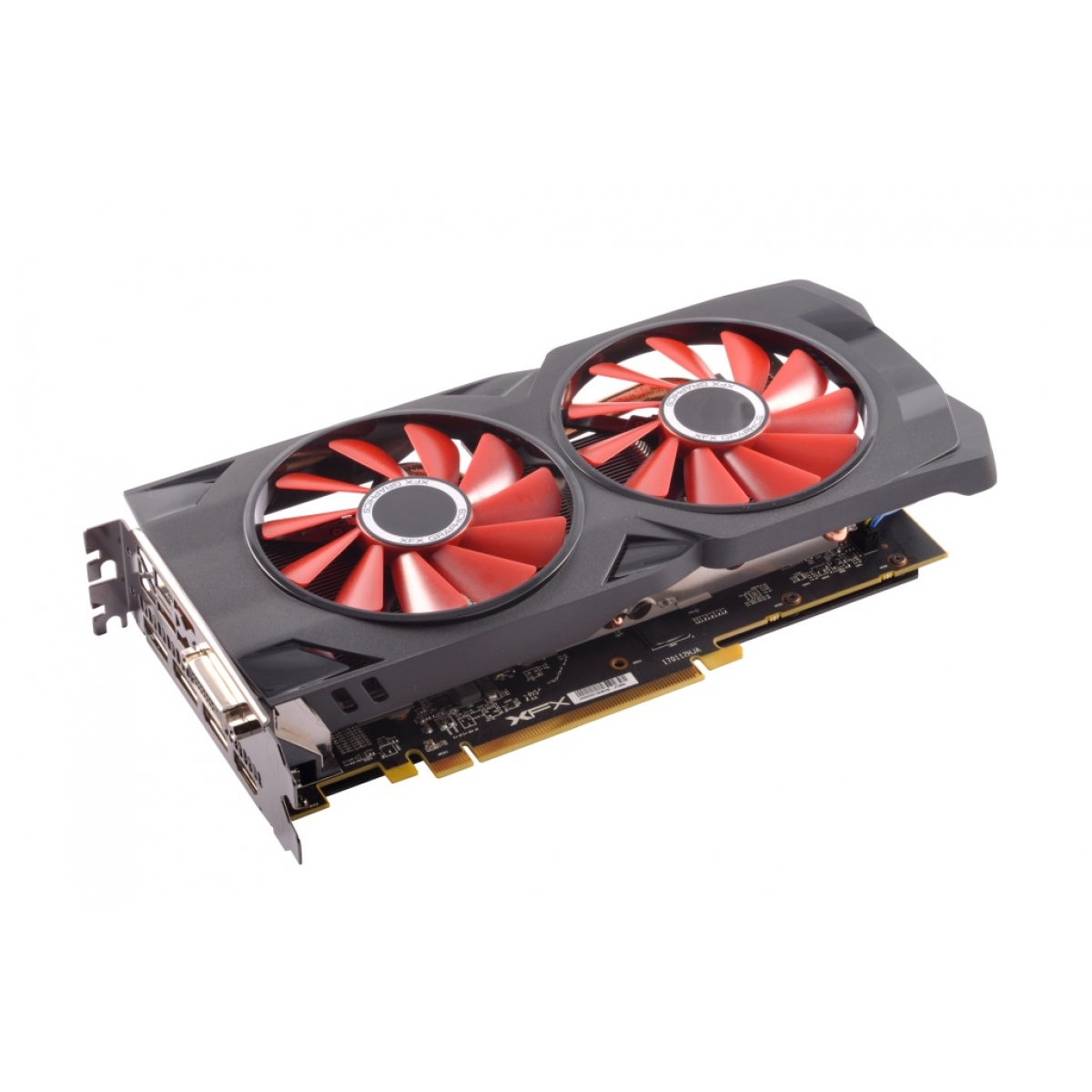 Placa de Vídeo XFX Radeon RX 570 4GB OC+ RS XXX Edition RX-570P4DFD6 DDR5