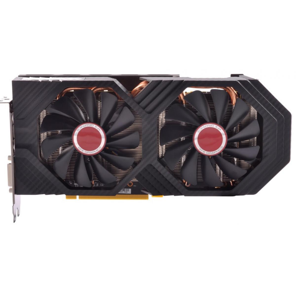 Placa de Vídeo XFX Radeon RX 580 Dual OC+ GTS XXX Edition, 8GB GDDR5, 256Bit, RX-580P8DFD6