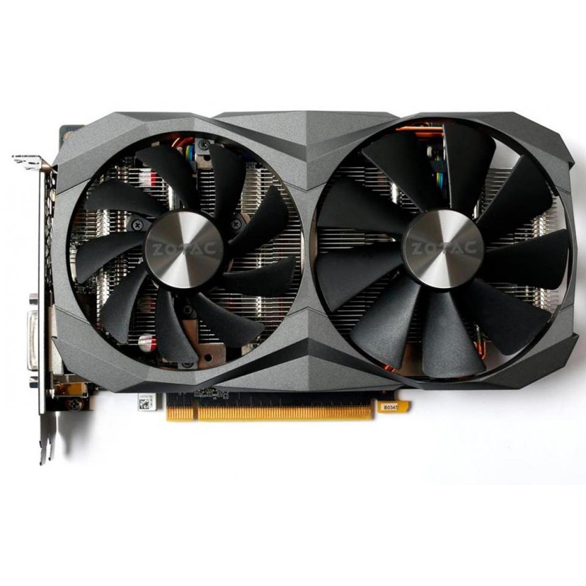 Placa de Video Zotac GeForce GTX 1060 Dual 6GB GDDR5X, 192Bit