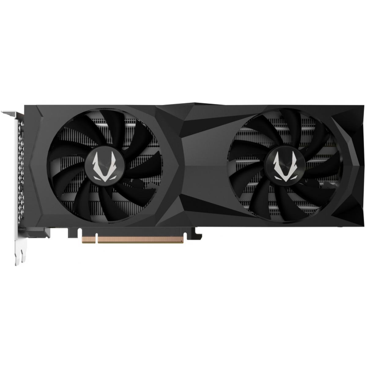 Placa de Vídeo Zotac GeForce RTX 2060 Super Gaming AMP Dual, 8GB GDDR6, 256Bit, ZT-T20610D-10P