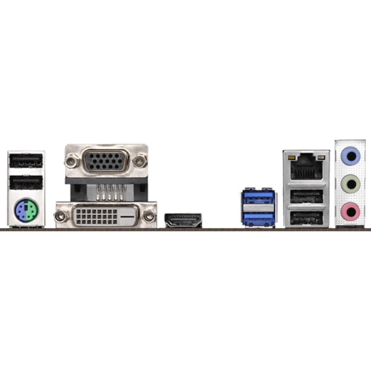 Placa Mãe ASRock H310M-HDV, Chipset H310, Intel LGA 1151, mATX, DDR4