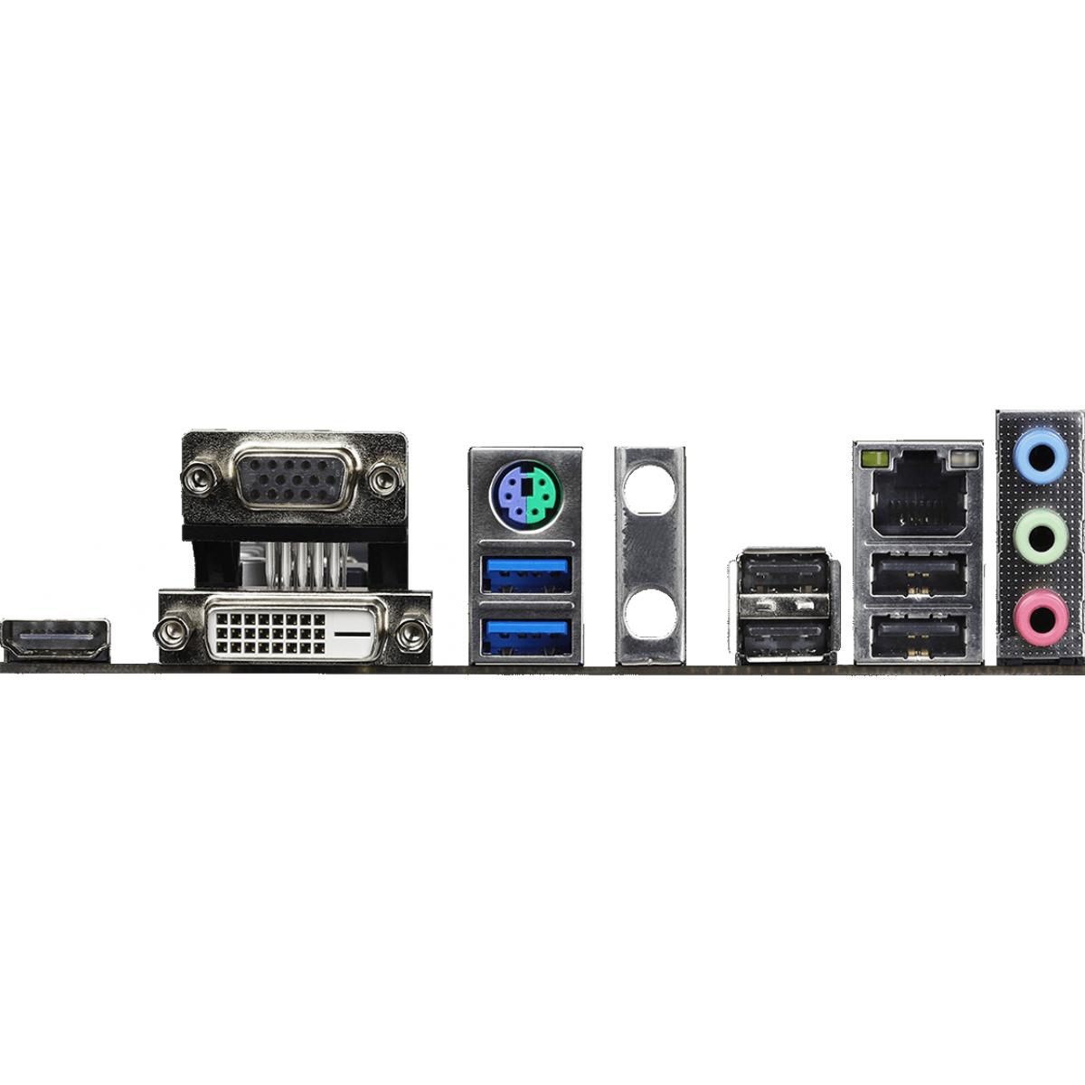 Placa Mãe Asrock H410M-HDV/M.2, Chipset H410M, Intel LGA 1200, mAXT, DDR4