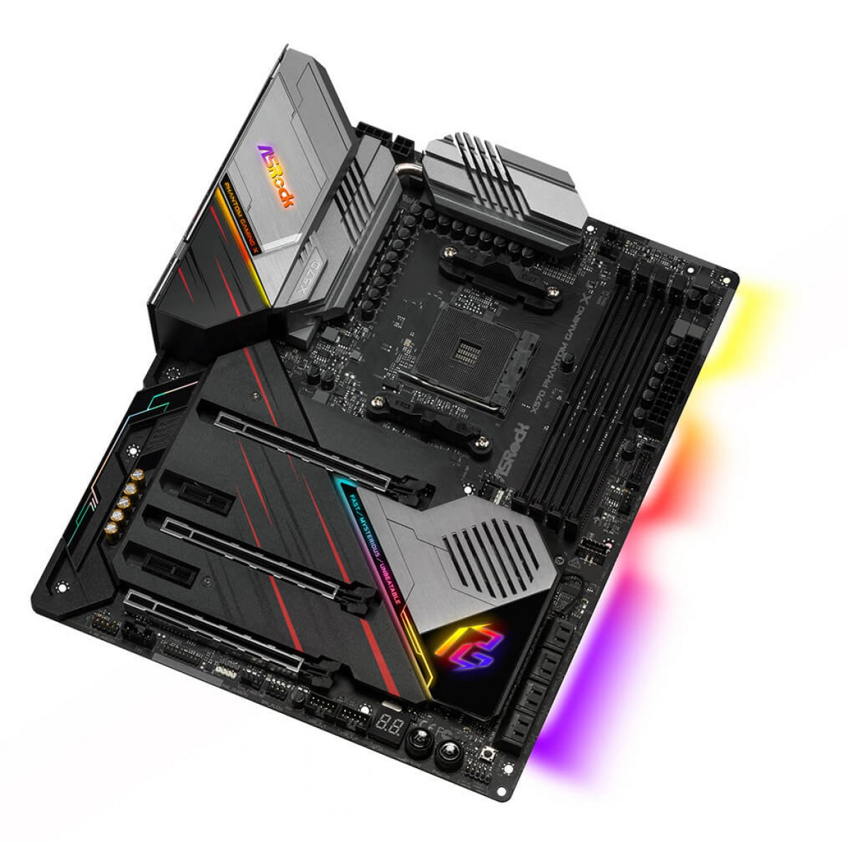 Placa Mãe ASRock X570 Phantom Gaming X Wifi, Chipset X570, AMD AM4, ATX, DDR4, 90-MXBAN0-A0UAYZ