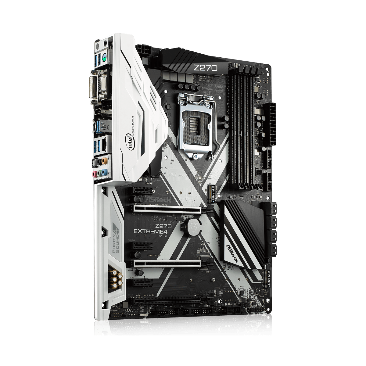 Placa Mãe ASROCK Z270 Extreme4, Chipset Z270, Intel LGA 1151, ATX, DDR4